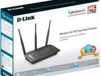 Router Wireless WiFi D-link DIR-809 AC750
