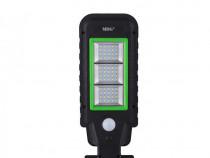 Lampa solara stradala A-HS-8011A, Panou solar, 60 LED C400
