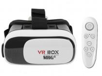 Ochelari virtuali 3D VR Box, Controller, pentru telefon C396