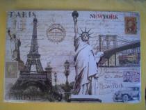 "Reclama ""Paris & New-York"" - sigilata"