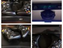 Consola Microsoft Xbox 360, 4GB + Kinect Sensor & peste 100