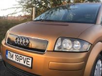 Audi A2 1.4 benzină 16v colantat in cupru perlat