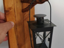 Suport decorativ din lemn