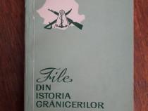 File din istoria granicerilor (autograf) / R6P4F