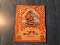 Povestea craiului sultan de A. S. Puskin ( carte pt. copii )