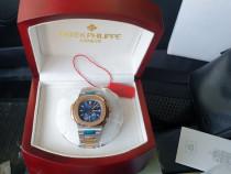 Patek Philippe Nautilus Bicolor Blue dial CLONA 40.5mm