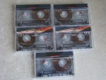 Lot 5 Casete Audio EMTEC / BASF Sound I 90 min - Impecabile