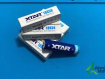 Acumulator XTAR 18650, cu protectie PCB, pol ridicat, 3.6V 3