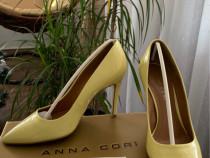 Pantofi piele Anna Cori
