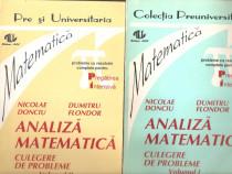 Analiza Matematica culegere de probleme-Nicolae Donciu 2 vol