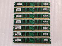 Memorie Kingston 2GB DDR2 800Mhz CL5 ValueRam low profile