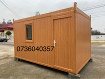 Container stil birou containere stil imitatie lemn