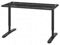 Cadru birou Bekant Ikea + blat + organizator cabluri