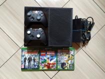 Consola Xbox, 2 controllere, peste 380 jocuri:Forza,Fortnite