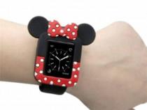 Husa protectie Apple Watch 38mm, seria 2, 3, carcasa silicon