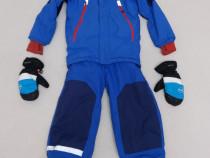 Costum ski H & M, salopeta iarnă, impermeabilă, nr 122