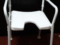 Scaun pliabil de dus baie batrani dizabilitati