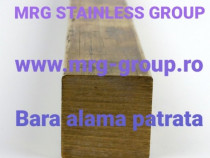 Bara alama patrata 40x40x3000mm Patrat alama aluminiu cupru