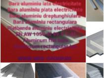 Platbanda aluminiu electricitate 30x10mm EN AW-1050 moale