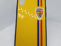 Husa Clear View Iphone X Romania + cablu de date cadou