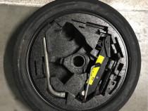 Kit roata rezerva slim 5x112 VW/Audi/Skoda 125/70/18