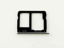 Tavita suport sim Samsung A310 negru/albastru inchis noua si