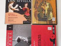 DVD-uri Operă: Carmen, Aida & Bărbierul din Sevilla