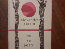 Nu se poate preciza - Alexandra Tarziu, autograf / R5P3S