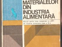 Studiul materialelor din industria alimentara