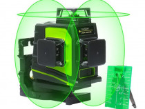 Nivela laser Huepar GF360G cu auto-nivelare 3D 3x360°