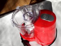 Mini tocator Selecline 883820, rosu, putere 120 W, 730 g