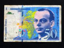 Lot 2 bancnote FRANTA 1992-1993 - circulate