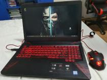 Laptop Asus TUF Gaming FX504 series + mouse Redragon cadou