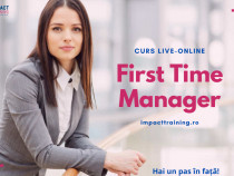 Curs First Time Manager
