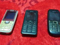 Set 3 telefoane Nokia