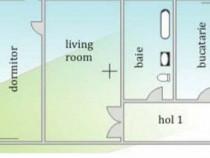 Apartament 2 camere,zona Girocului,etaj 3