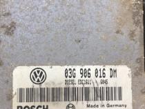 Calculator motor ecu 03G906016DM caddy 3