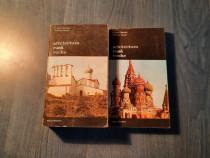 Arhitectura rusa veche 2 volume Hubert Faensen V. Ivanov