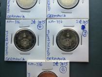 Monede 2 euro comemorative, toate monetariile