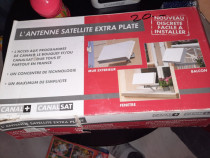Antena satelit extraplata autorulota