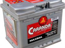 Baterie auto 12V 55Ah 520A CARANDA MAXIMA Garantie 3 Ani