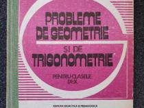 Probleme de geometrie si de trigonometrie - ianus, soare
