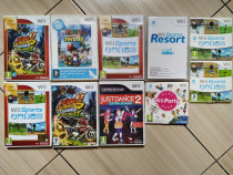 Wii: Just Dance, Wii Sports & Sports Resort, Mario,Wii Party