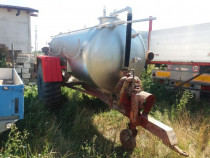 Remorca cisterna/vidanja din inox
