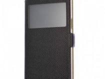 Husa Flip tip Carte LG Optimus K50 + Cablu de date Cadou