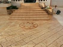 Efectuăm beton amprentat Piatra Neamt Pavaje Neamt