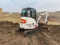 Mini excavator bobcat 428
