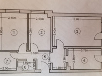 Apartament 3 camere, zona anda
