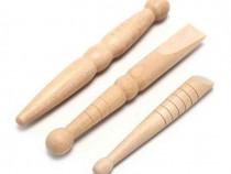Set 3 buc Instrumente Masaj Reflexoterapie