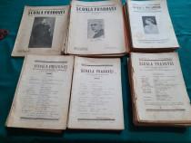 Lot 60 reviste școala prahovei/ diferite numere anii 1936-1